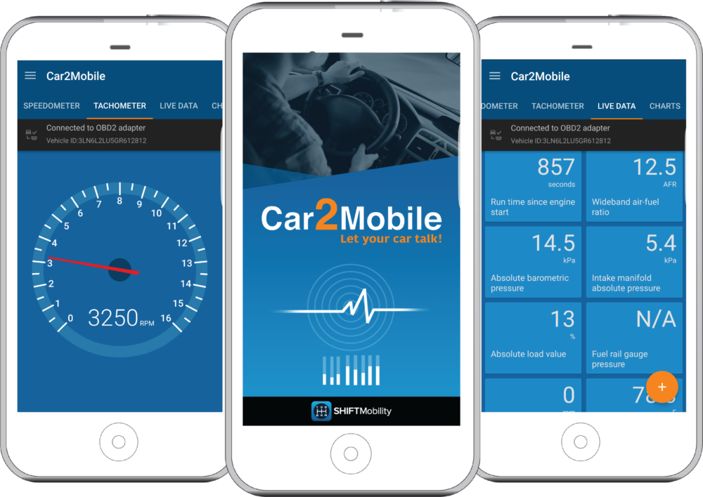 Car2Mobile Remote Diagnostics Telematics App
