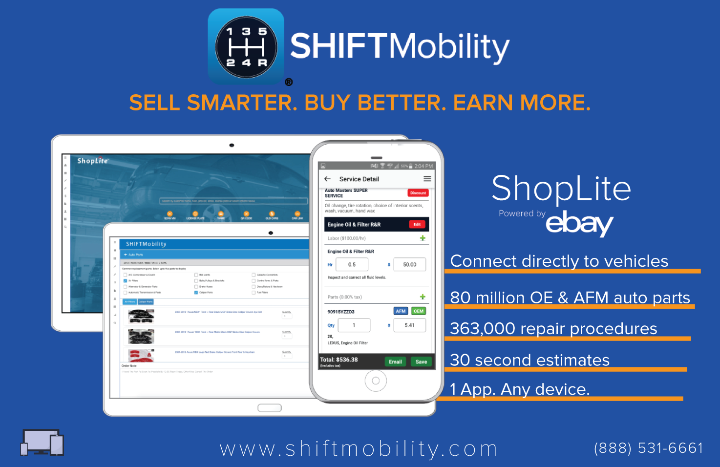 ShopLite powered by eBay Motors
